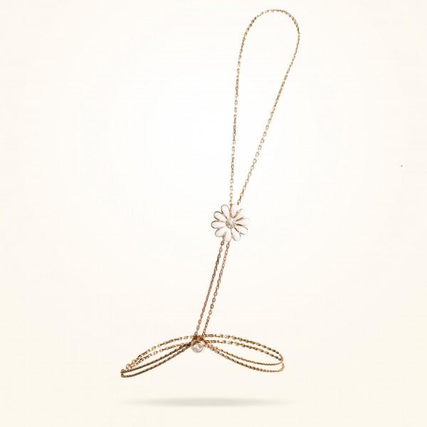 MARVVA - 10.5mm Daisy Elegance Shahmiran , Diamond, Rose Gold 18K