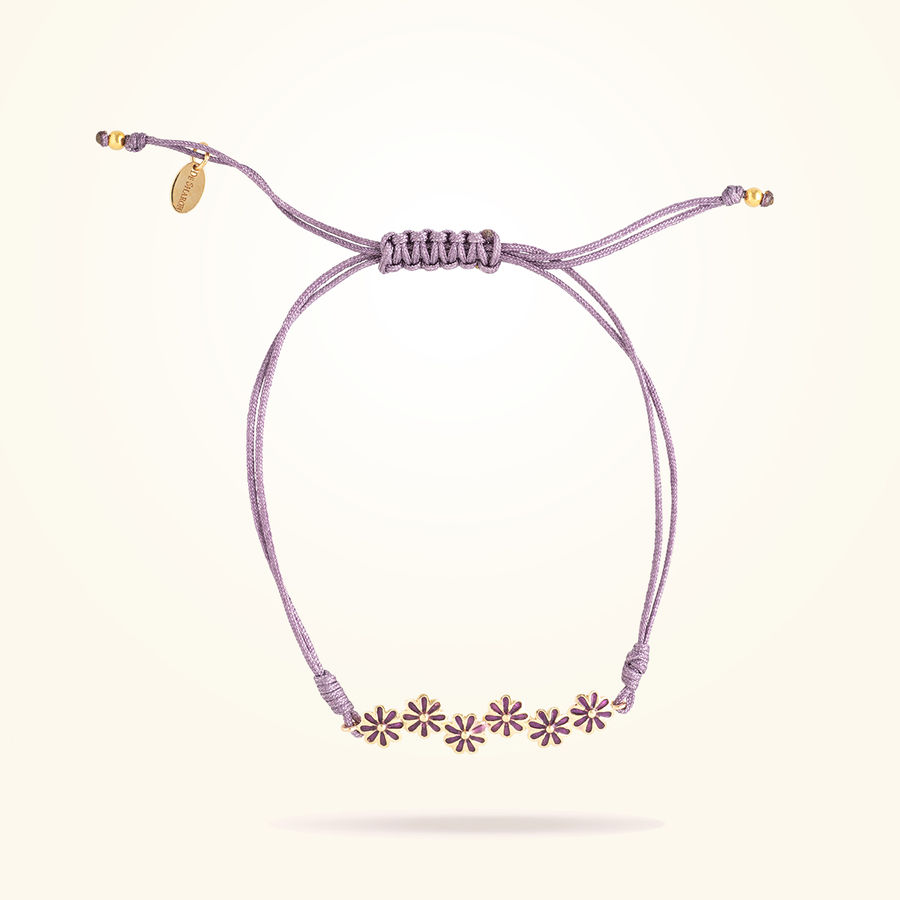 6mm Daisy Junior Urban Bracelet, Rose Gold 18K