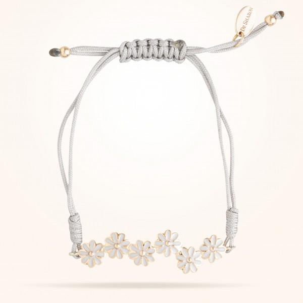 MARVVA - 6mm Daisy Junior Urban Bracelet, Rose Gold 18K